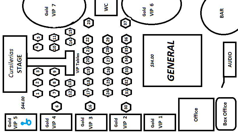 Cursilerias Layout revised