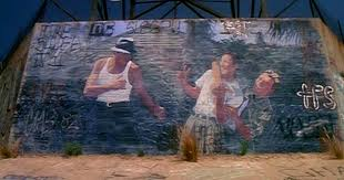 Blood in Blood out Mural