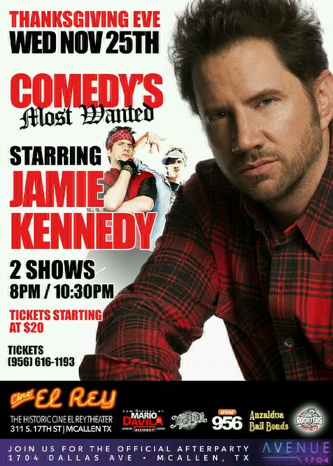 Jamie Kennedy old poster