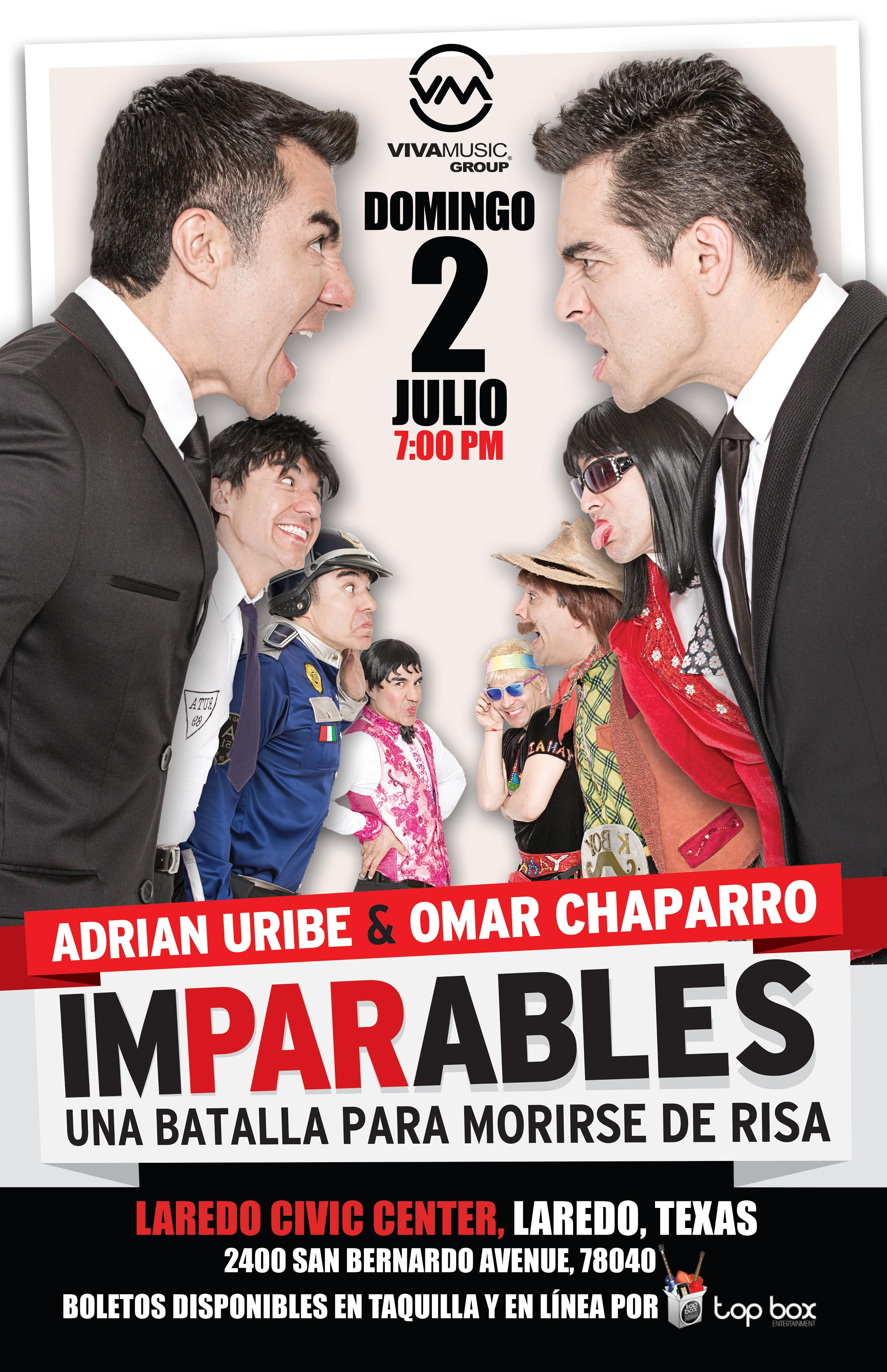 Imparables 2017 poster